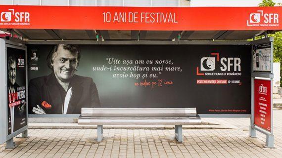 Stație de autobuz dedicată actorului Florin Piersic