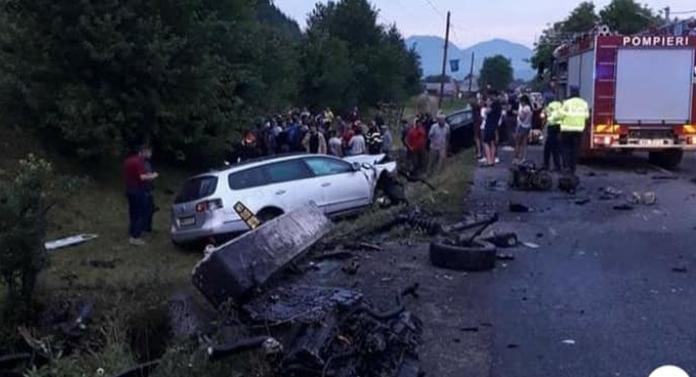 Accident CUMPLIT! O fetiță de 12 ani și o femeie de 40 de ani au murit. Alte 4 persoane sunt la spital