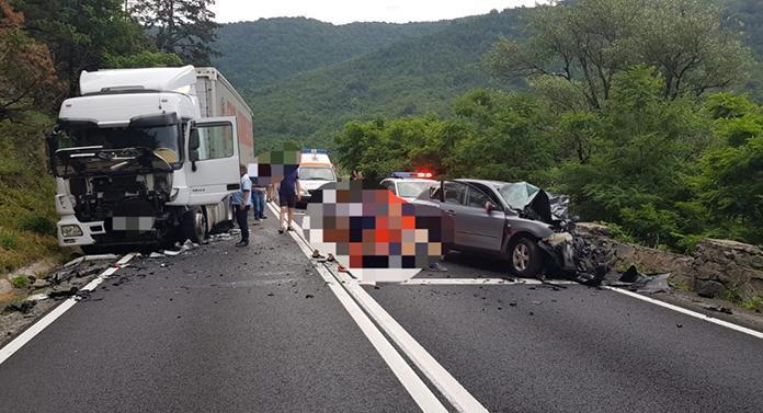 Accident groaznic în urmă cu puțin timp