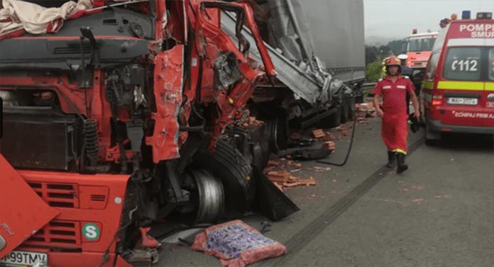 Accident rutier cu trei victime, la Poiana Stampei