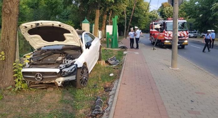 Șmecherul care a produs accidentul din Copou, arestat preventiv pentru 30 de zile