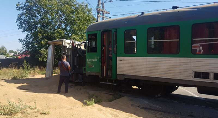 Încă un tren a deraiat!
