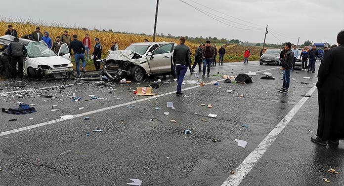 Accident în județul Iași. 4 morți