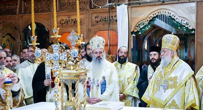 """Sfinţirea bisericii """"Sf. Ap. Toma"""" din cartierul Alexandru cel Bun"""
