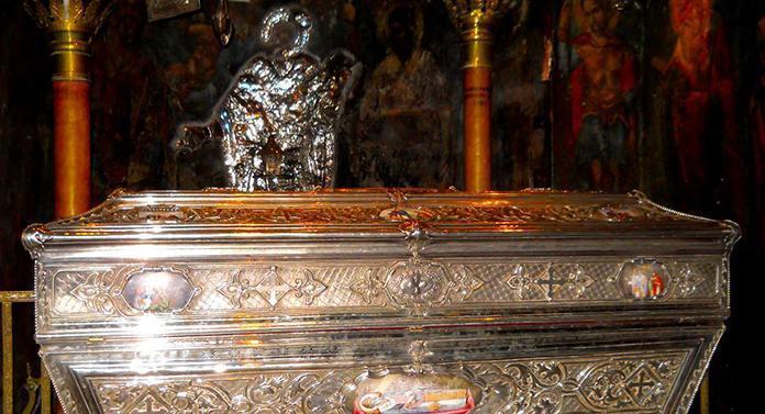 Calea sfinților și primirea moaștelor Sfântului Ierarh Spiridon