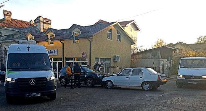 Accident în Fălticeni, făcut de un șofer beat
