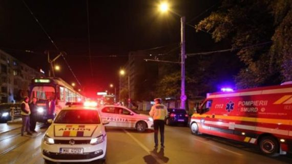 Accident cumplit aseară, în Podu Roș