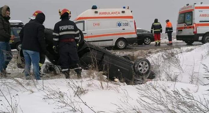 Accident la Târgu Frumos