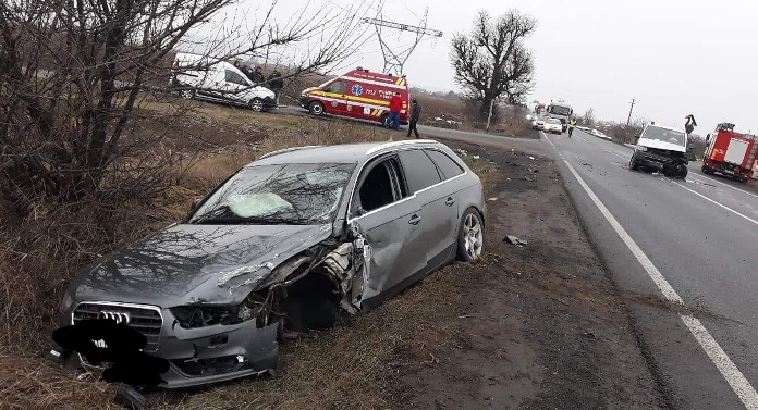 Tânăr de 19 ani, la spital în urma unui grav accident în Neamţ