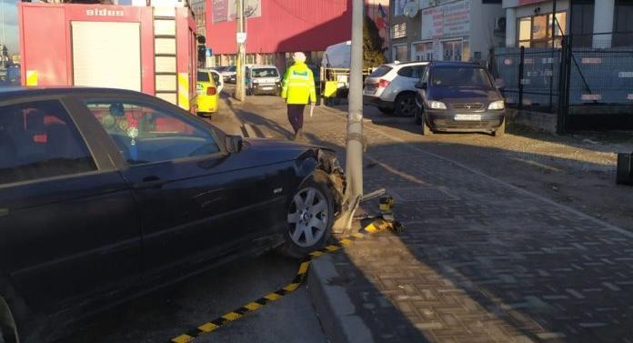 Accident în această dimineaţă, la Autogară