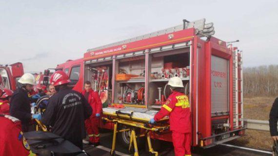 Accident cumplit la Albiţa. Sunt 7 victime. S-a solicitat elicopterul SMURD