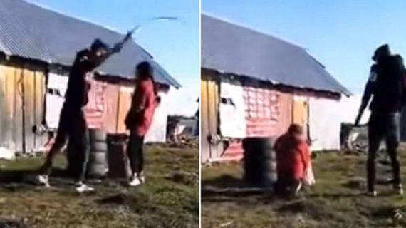Minoră de 15 ani, bătută cu biciul de fostul concubin. Totul a fost postat pe YouTube