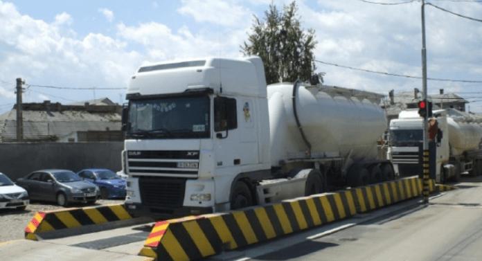6 platforme pentru verificarea tonajelor autovehiculelor