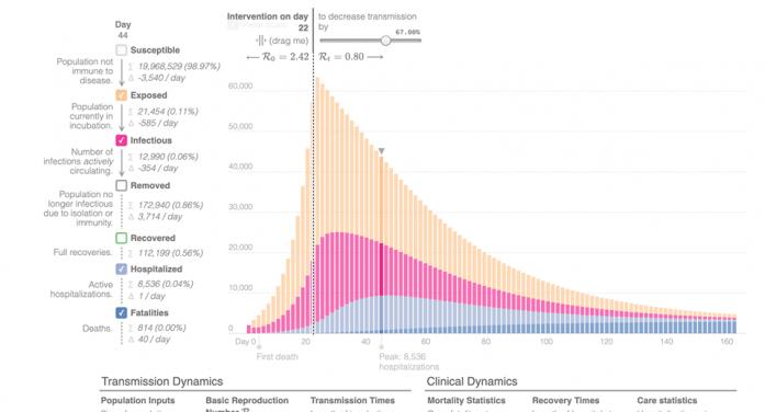 Simulare. Câte decese provocate de noul coronavirus ar putea înregistra România