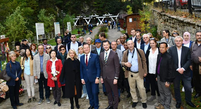 Diplomați din 29 de țări au vizitat stațiunea Slănic Moldova